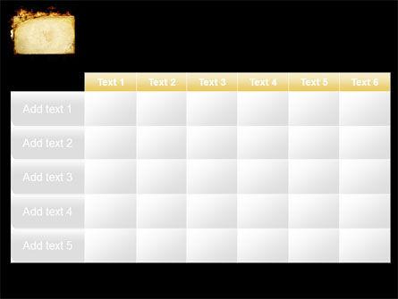 Fire Board PowerPoint Template Slide 15