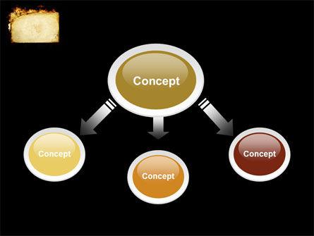 Fire Board PowerPoint Template, Slide 4, 03412, Abstract/Textures — PoweredTemplate.com