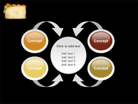 Fire Board PowerPoint Template Slide 6