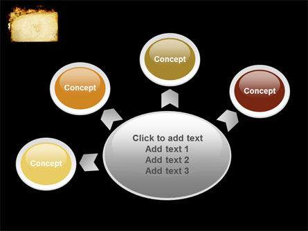 Fire Board PowerPoint Template Slide 7