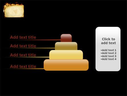 Fire Board PowerPoint Template Slide 8