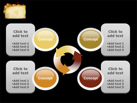 Fire Board PowerPoint Template Slide 9
