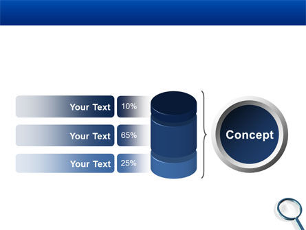Magnifying Glass In Search PowerPoint Template Slide 11