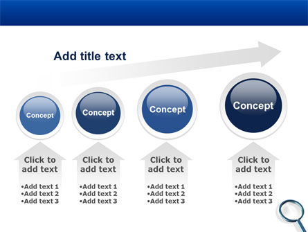 Magnifying Glass In Search PowerPoint Template Slide 13