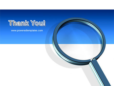 Magnifying Glass In Search PowerPoint Template Slide 20