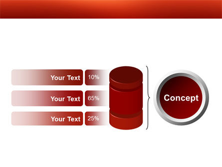 Thumbtacks PowerPoint Template Slide 11