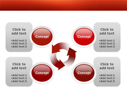 Thumbtacks PowerPoint Template Slide 9