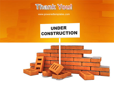 Under Construction PowerPoint Template Slide 20