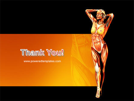 Female Body Anatomy PowerPoint Template Slide 20