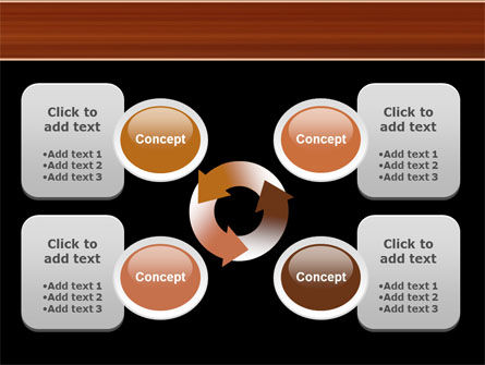 Semi Acoustic Guitar PowerPoint Template Slide 9