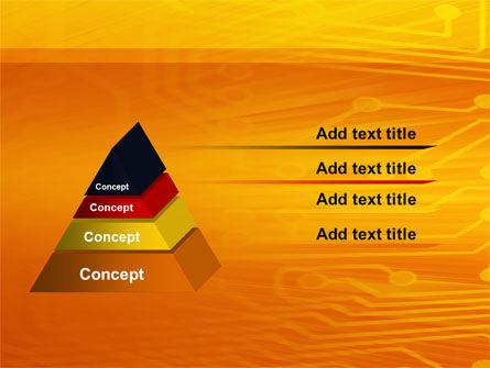 Circuit Board PowerPoint Template Slide 12