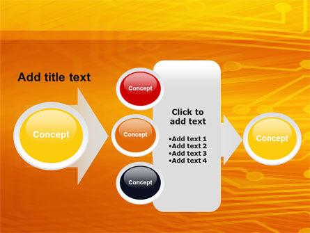 Circuit Board PowerPoint Template Slide 17
