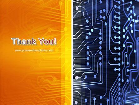 Circuit Board PowerPoint Template Slide 20