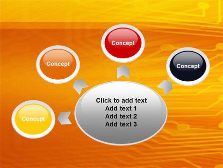 Circuit Board PowerPoint Template Slide 7