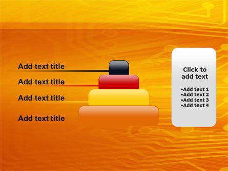 Circuit Board PowerPoint Template Slide 8