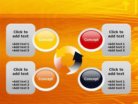 Circuit Board PowerPoint Template Slide 9