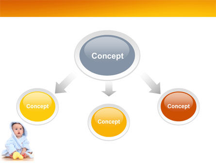 Little Baby PowerPoint Template, Slide 4, 03426, People — PoweredTemplate.com