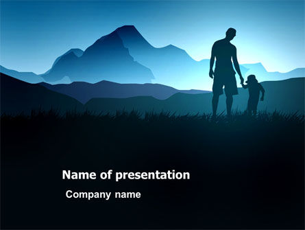 Religious/Spiritual: Starting Point PowerPoint Template #03429