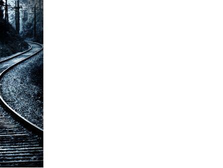 Railway PowerPoint Template, Slide 3, 03431, Construction — PoweredTemplate.com