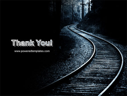 Railway PowerPoint Template Slide 20