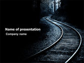 Construction: Railway PowerPoint Template #03431