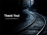 Railway PowerPoint Template#20