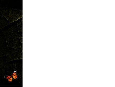 Butterfly Effect PowerPoint Template, Slide 3, 03432, Animals and Pets — PoweredTemplate.com