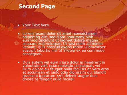 Artistic Design PowerPoint Template, Slide 2, 03433, Abstract/Textures — PoweredTemplate.com
