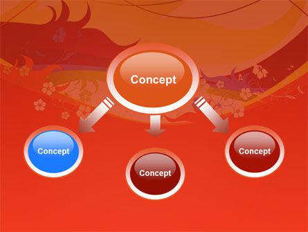 Artistic Design PowerPoint Template, Slide 4, 03433, Abstract/Textures — PoweredTemplate.com