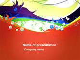 Abstract/Textures: Artistic Design PowerPoint Template #03433