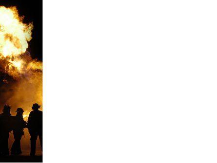 Fire Brigade PowerPoint Template, Slide 3, 03434, Careers/Industry — PoweredTemplate.com