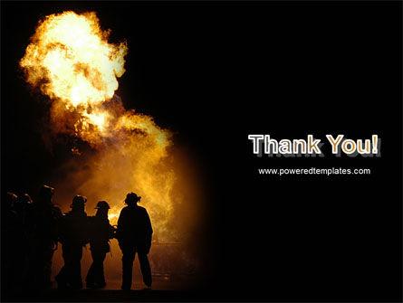 Fire Brigade PowerPoint Template Slide 20