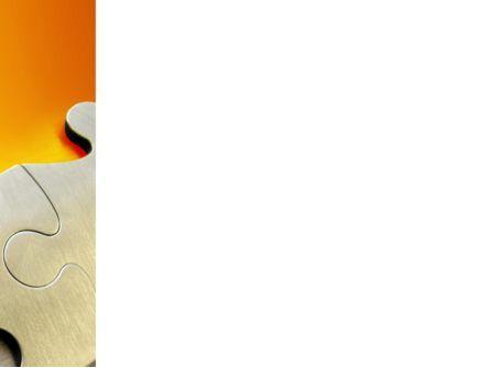 Puzzle Parts PowerPoint Template, Slide 3, 03435, Business Concepts — PoweredTemplate.com