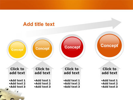Puzzle Parts PowerPoint Template Slide 13