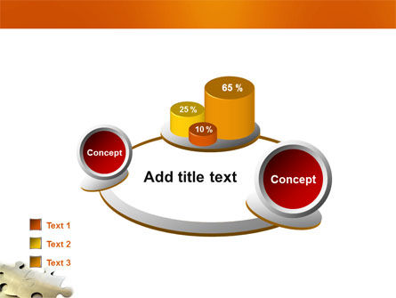 Puzzle Parts PowerPoint Template Slide 16