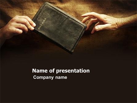 Religious/Spiritual: Christianity PowerPoint Template #03436