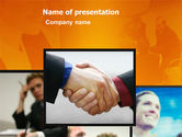 Business: Effective Customer Relationship Management PowerPoint Template #03437