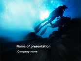 Sports: Diving PowerPoint Template #03439