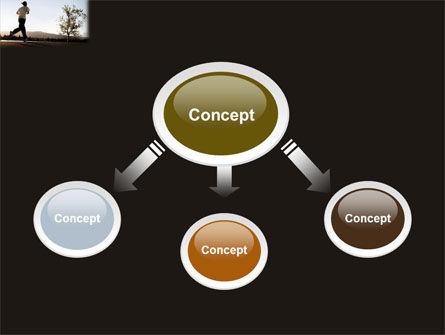 Morning Jogging PowerPoint Template, Slide 4, 03440, Sports — PoweredTemplate.com
