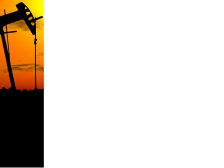 Oil Producer PowerPoint Template, Slide 3, 03444, Utilities/Industrial — PoweredTemplate.com