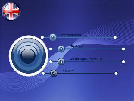 United Kingdom PowerPoint Template, Slide 3, 03448, Flags/International — PoweredTemplate.com