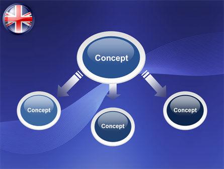 United Kingdom PowerPoint Template, Slide 4, 03448, Flags/International — PoweredTemplate.com