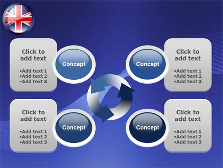 United Kingdom PowerPoint Template Slide 9