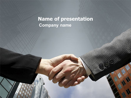 Concord PowerPoint Template, 03449, Business — PoweredTemplate.com