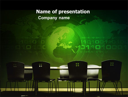 Global: Conference Hall PowerPoint Template #03451