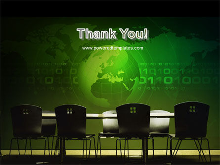 Conference Hall PowerPoint Template Slide 20