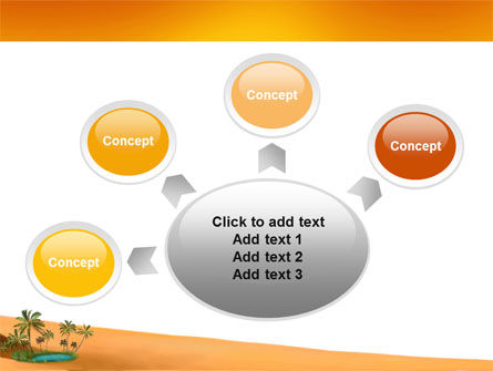 Oasis PowerPoint Template Slide 7