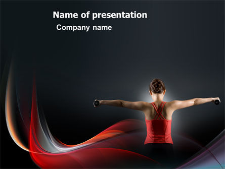Sports: Fit Body PowerPoint Template #03455