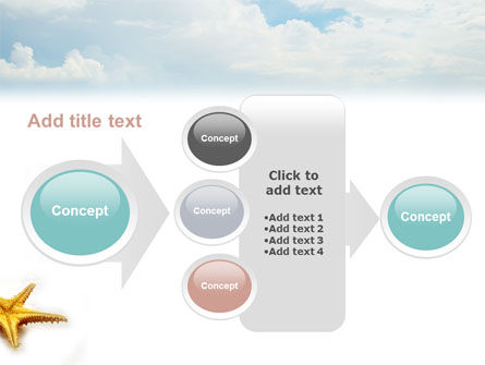 Starfish PowerPoint Template Slide 17