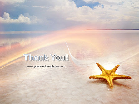 Starfish PowerPoint Template Slide 20